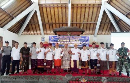 Kampanye Bersama Penyampaian Visi Misi Calon Perbekel Desa Tejakula