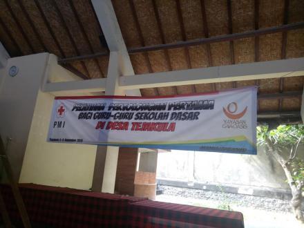 Pelatihan PMI Kabupaten buleleng